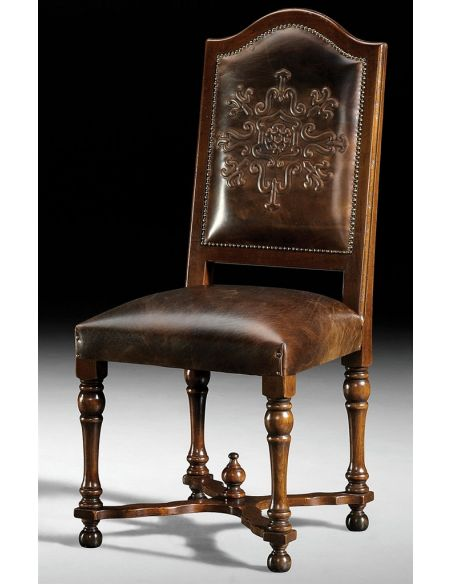 Dining Chairs High end furniture, solid walnut dining chairs.