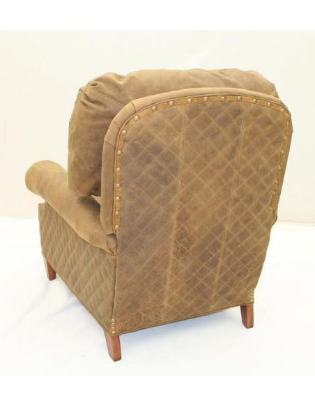 Luxury Leather & Upholstered Furniture High quality furnishings, Fawn hair hide leather recliner