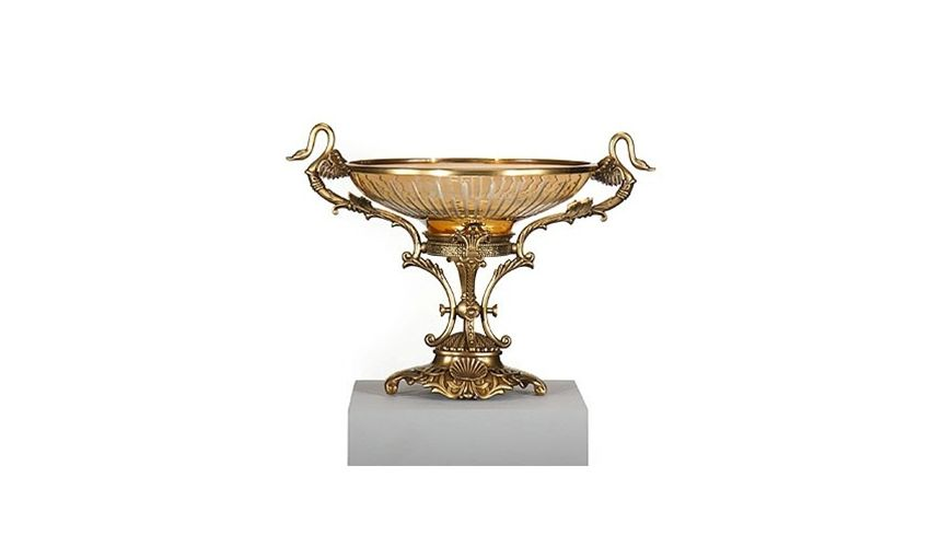 Quality Furniture : ... Home Accessories High Quality Furniture Swan Bowl and Stand