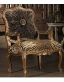High style Tiger print chair. 230