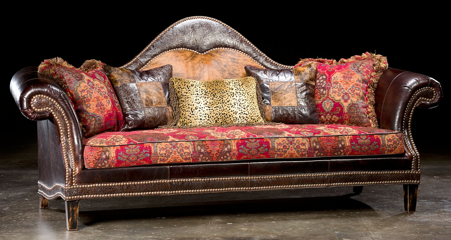 High Style Country Western Sofa Usa Made Luxury Fine Home Furnishings And High Quality