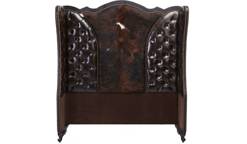 BEDS - Queen, King & California King Sizes Tufted Wingback Headboard