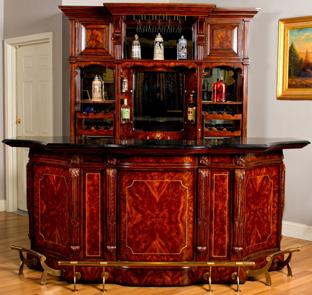 Home bar furniture Home pub bar furniture