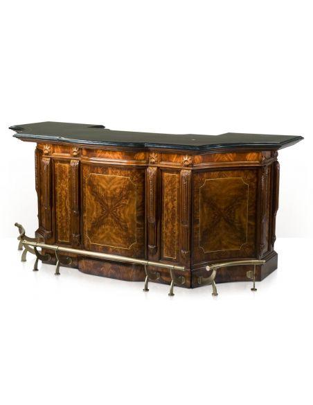 Home Bar Furniture. The London Gentlemen's Club Bar Set.