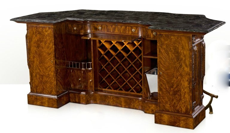Home Bar Furniture Home Bar. Empire Style Home Bar. Luxury Furniture.