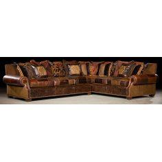 Grand home furnishings. Plush sectional sofa. 37