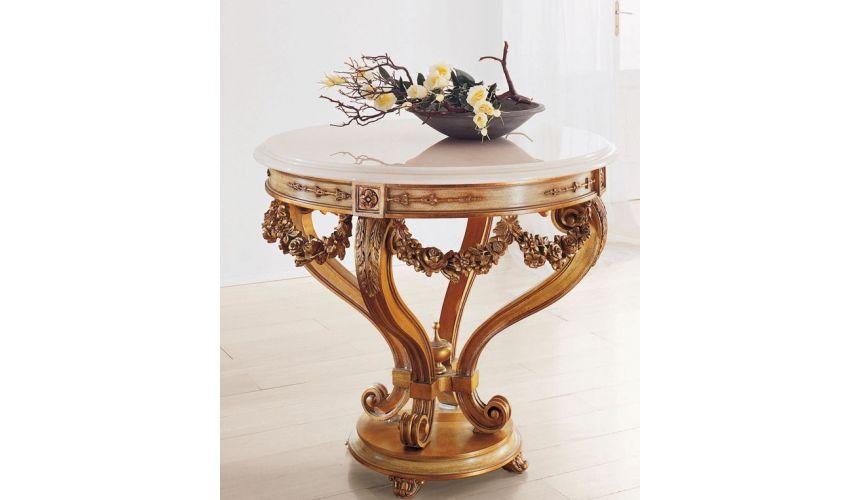 Foyer and Center Tables Italian handmade furniture from Bernadette Livingston Furniture