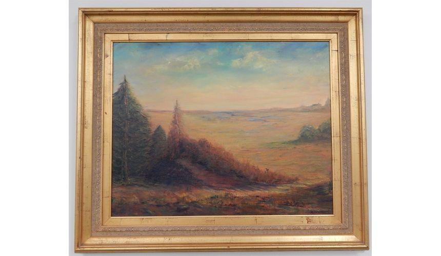 Original Oil Paintings By Artist: Anne-Marie Debuissert Josey Wales Trail painted by Artist Anne-Marie Debuissert.