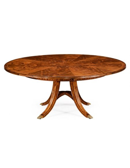 Dining Tables Jupe table with self storing leaves, center pops up. 594596