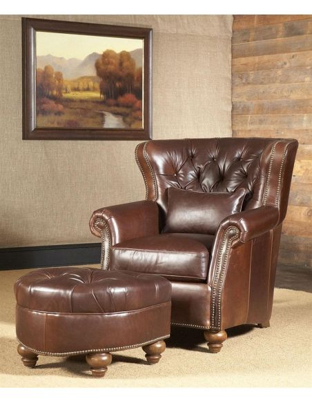 Luxury Leather & Upholstered Furniture 9-8-sofa, chair, leather, fabric