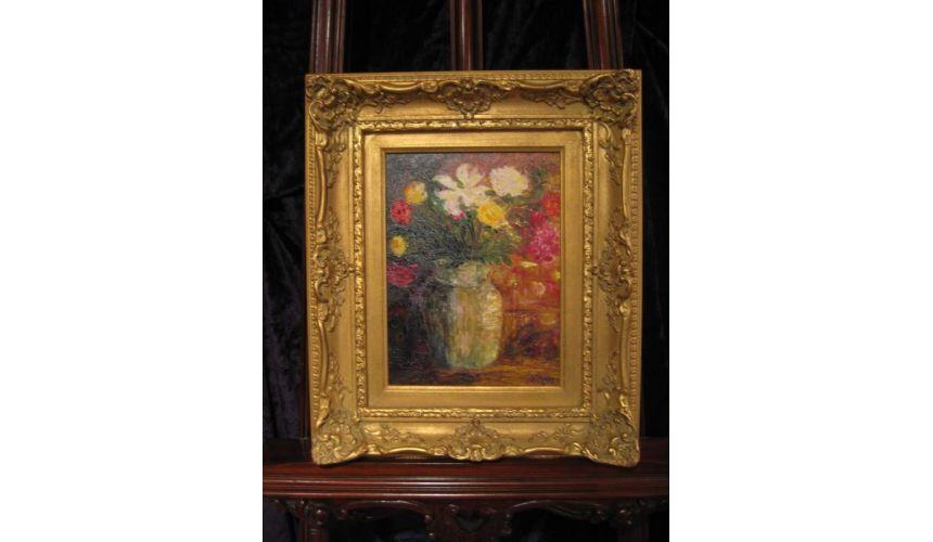Original Oil Paintings By Artist: Anne-Marie Debuissert Le Bouquet original oil paintings and home decor. Artist Anne-Marie D...