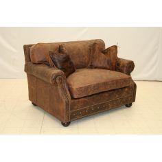 Leather Sleeper Chair 9830SL 03