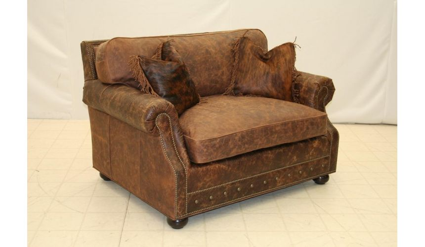 Leather Sleeper Chair 9830SL 03