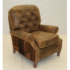 Leather and Hide Recliner 861R-03