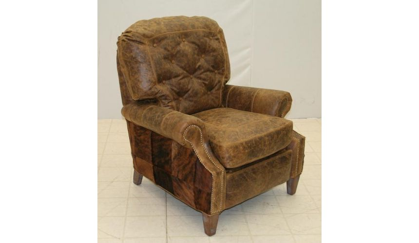 MOTION SEATING - Recliners, Swivels, Rockers Leather and Hide Recliner 861R-03