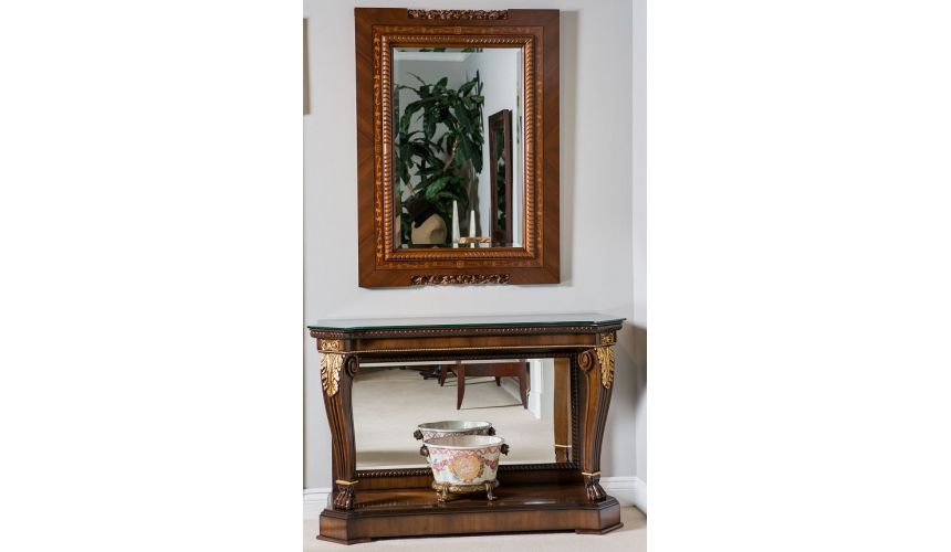 Console & Sofa Tables Console Table with Mirror