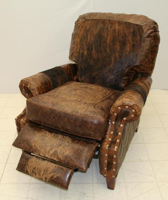 Luxury Leather u0026 Upholstered Furniture Leather and Hair Hide Recliner Chair 860R-03 & Leather and Hair Hide Recliner Chair 860R-03 islam-shia.org