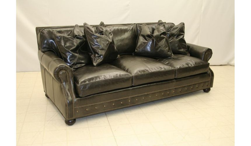 Leather Living Room Sofa 9830-05