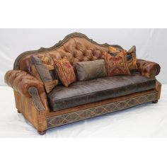 Best sofa in the world, Leather tufted sofa