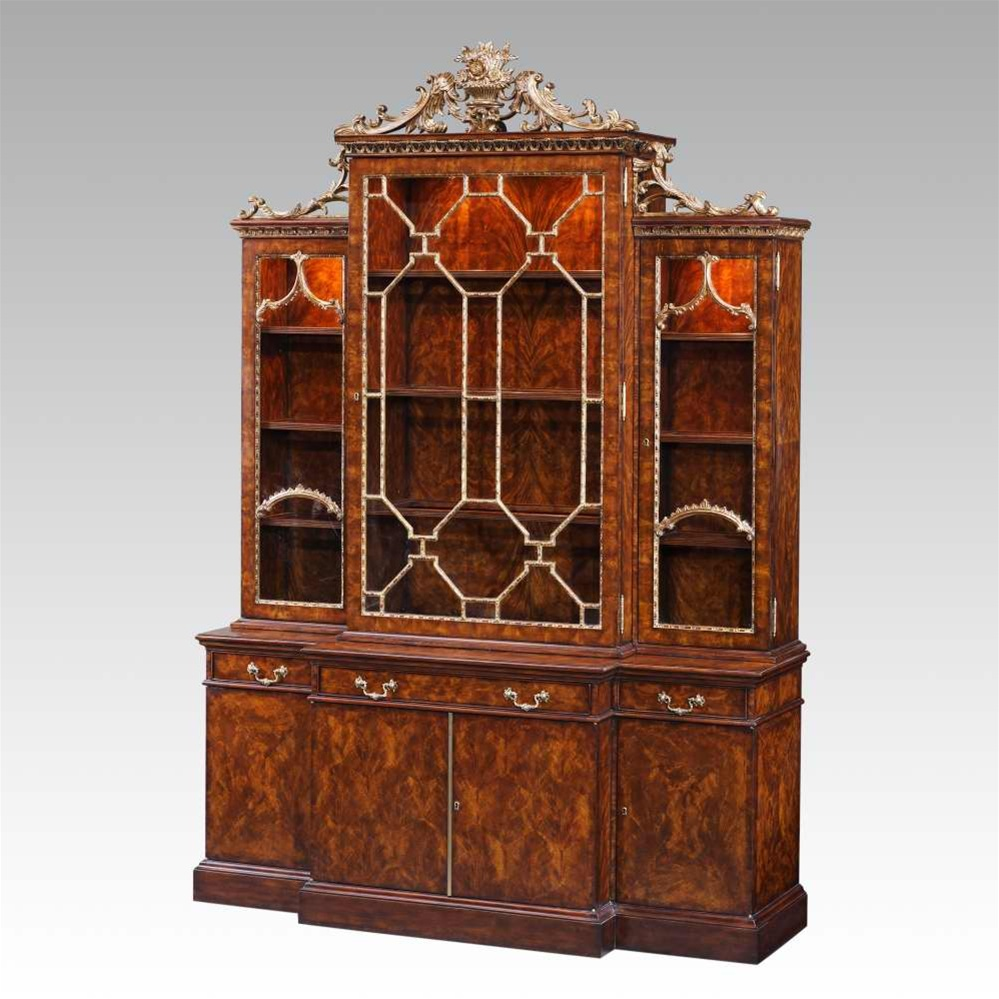 Breakfronts U0026 China Cabinets 21 Library Chinoiserie Bookcase, China Cabinet