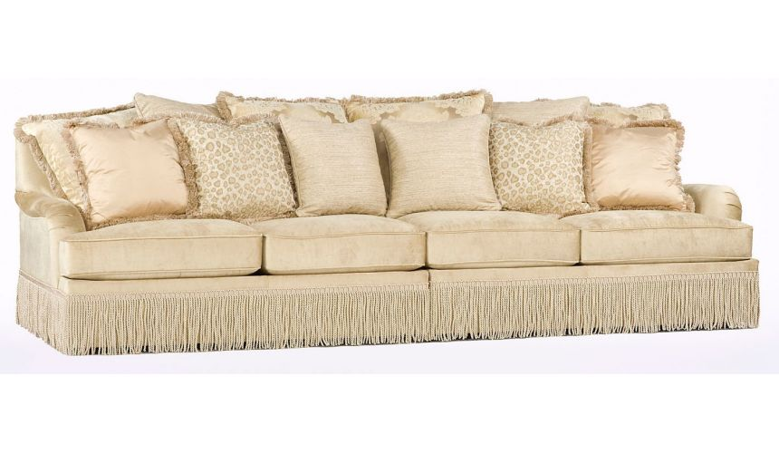 SOFA, COUCH & LOVESEAT Long sofa, high style living room furniture. 72