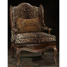 Love My Leopard chair high end furniture