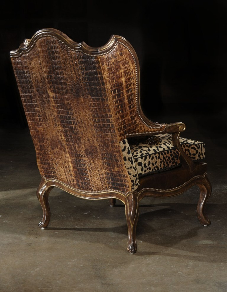 Love My Leopard Chair High End Furniture