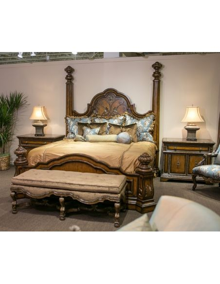 Queen and King Sized Beds Live like a King, luxury furnishings for castles to cottages