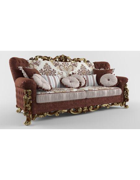 SOFA, COUCH & LOVESEAT Living Room Sofa 3/P
