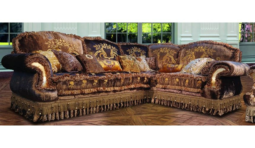 Furniture Masterpieces Corner Sofa sectional from our Vogue collection