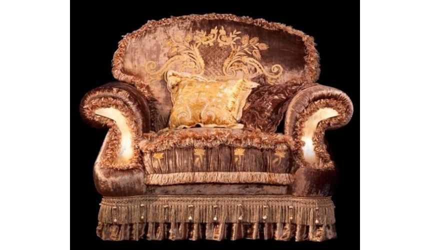 Furniture Masterpieces Classic Style Arm Chair From Our Vogue Collection