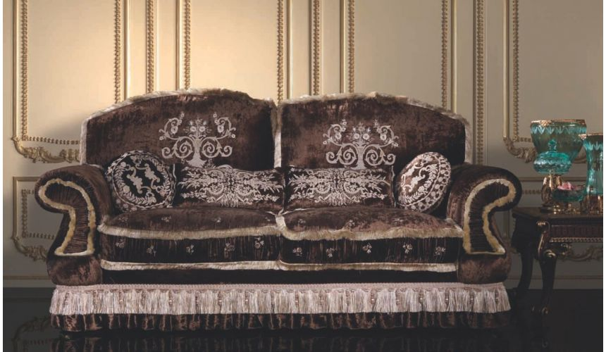 SOFA, COUCH & LOVESEAT Italian Style Two Person Sofa