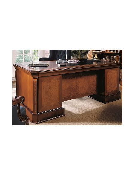Executive Desks Office Desk with Pedestal Base