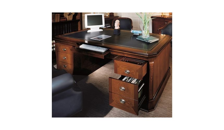 Executive Desks Office Desk with File Drawer