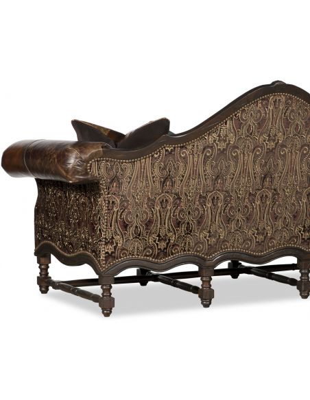 SOFA, COUCH & LOVESEAT Aristocratic Humpback Sofa