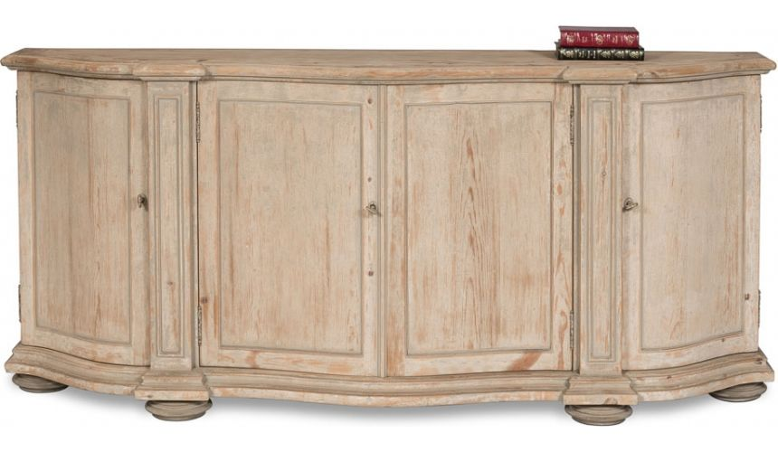 Breakfronts & China Cabinets Faux Lock Stain Cabinet