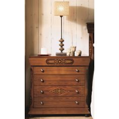 Four-Drawer Bedside Chest
