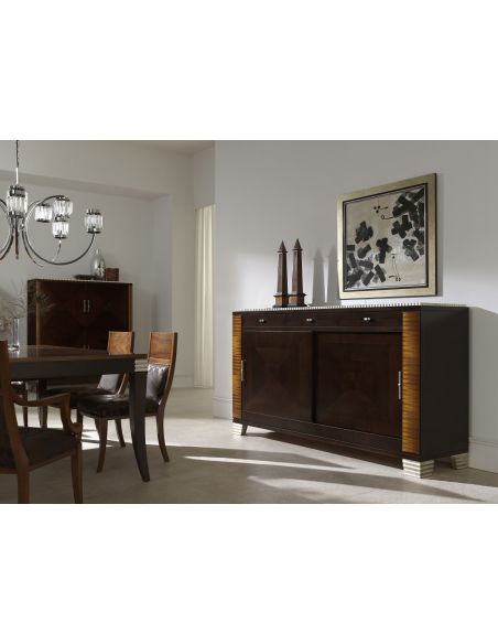 Breakfronts & China Cabinets Designer Dining Sideboard