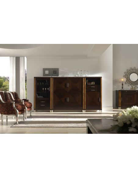 Breakfronts & China Cabinets Large Dining Sideboard