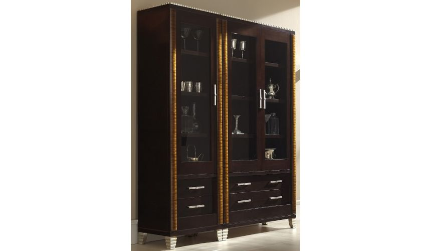 Breakfronts & China Cabinets Versatile Media Chest