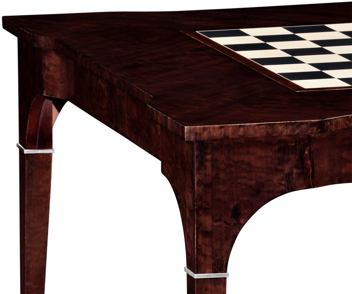 Game Card Tables Chairs Classic Backgammon And Chess Table