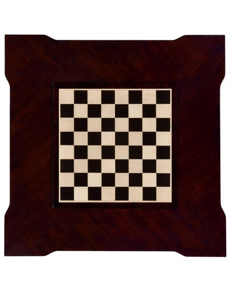 Classic Backgammon and Chess Table