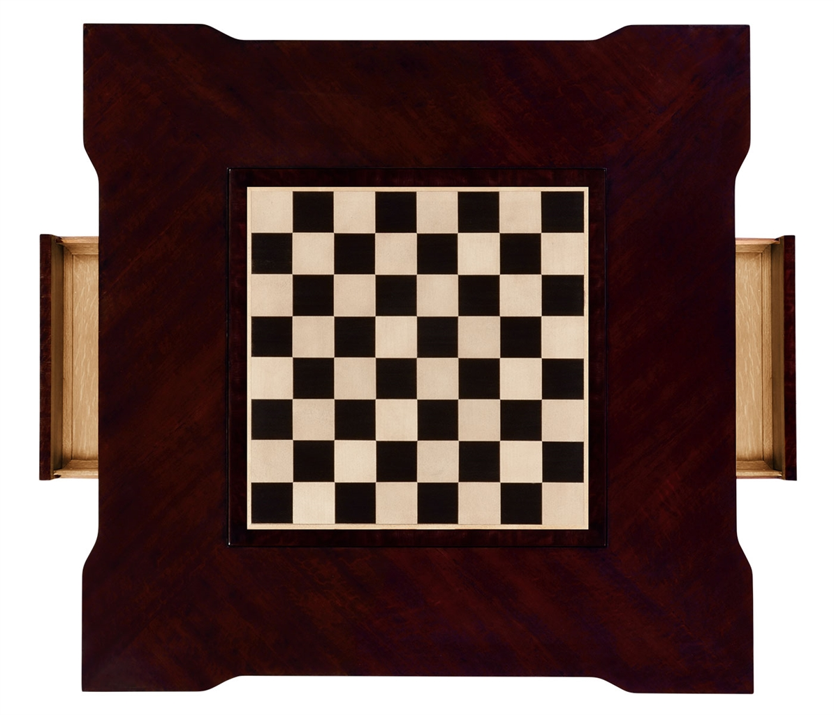 Game Card Tables U0026 Game Chairs Classic Backgammon And Chess Table