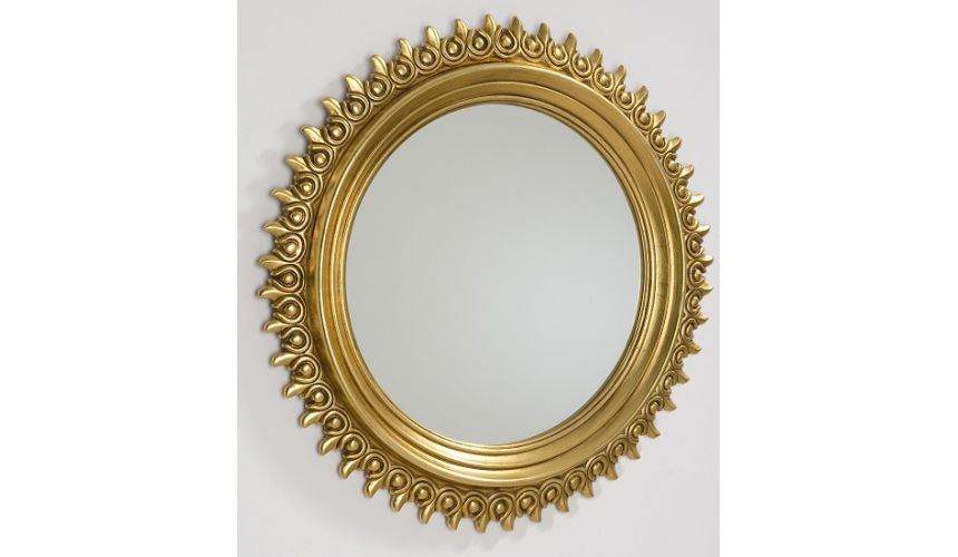 Decorative Accessories Ornate Round Photo Frame