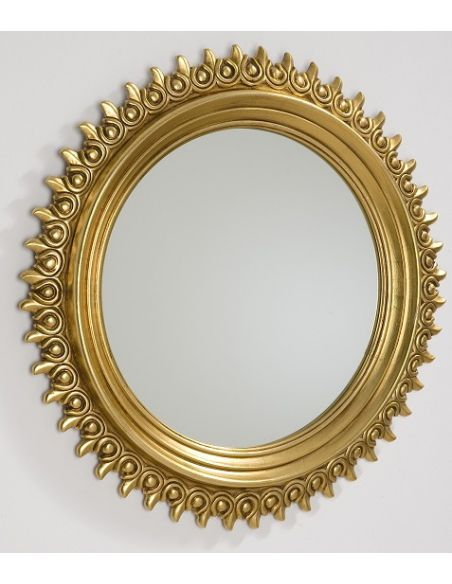 Decorative Accessories Ornate Round Photo Frame