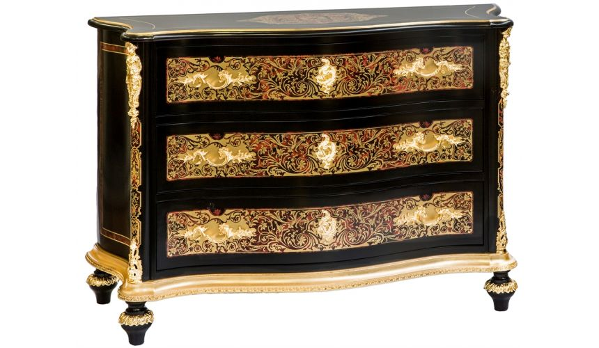 Furniture Masterpieces Chest of drawers from our King Louis Collection Boulle marquetry work