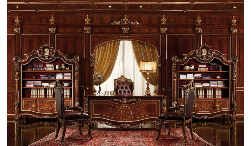 Bookcases Luxury office furniture. Furniture masterpiece collection.