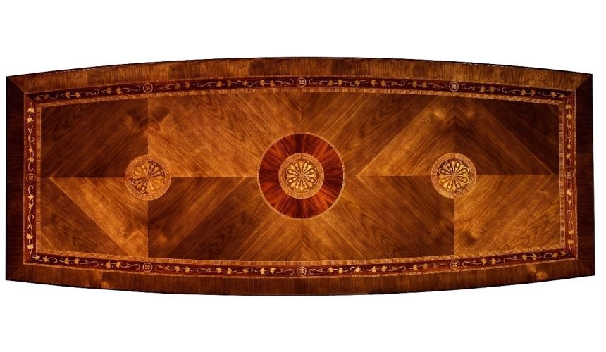 Dining Tables 11 Luxury dining furniture. Exquisite marquetry and detail work.