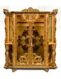 11 Luxury furniture. Exquisite Empire style dining cabinet.