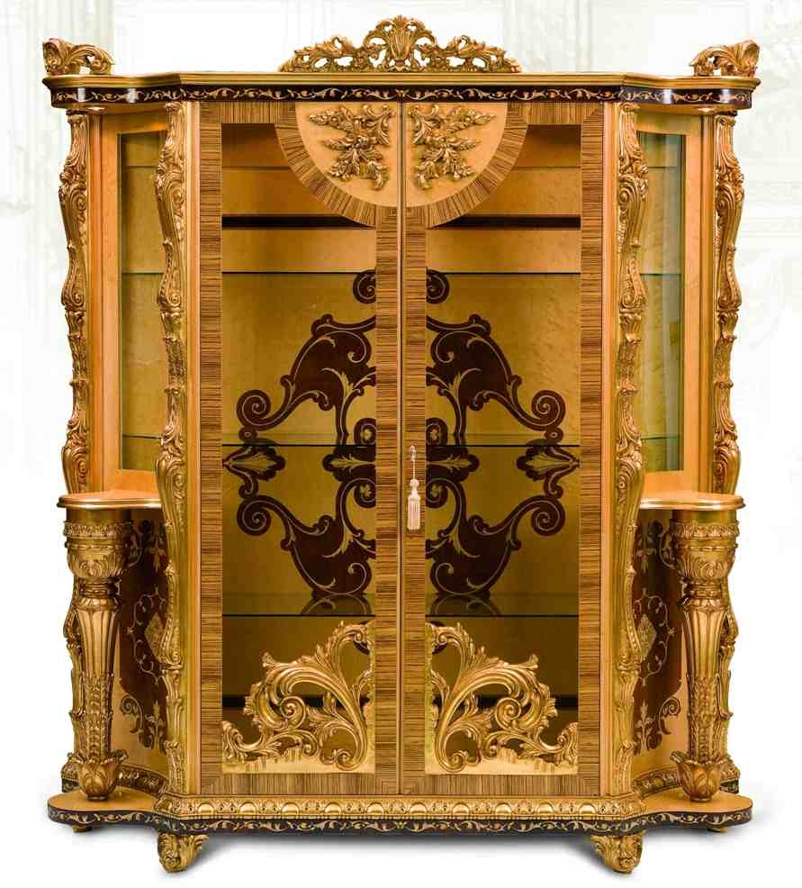 Breakfronts China Cabinets 11 Luxury Furniture Exquisite Empire Style Dining Cabinet